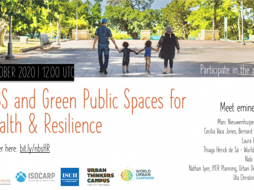 UTC NBS and Green Public Spaces for Health and Resilience