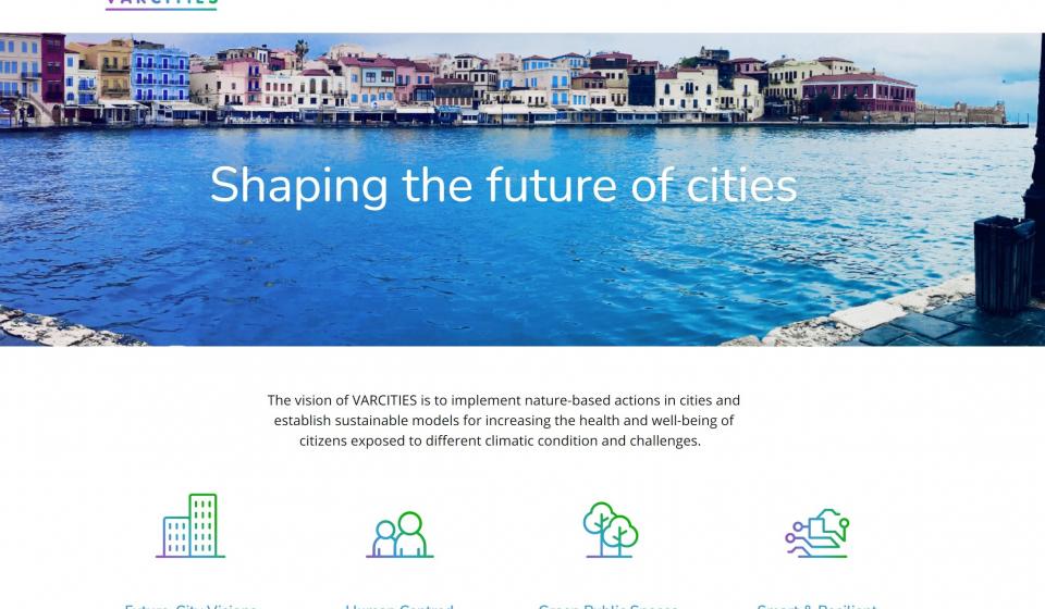 homepage varcities website